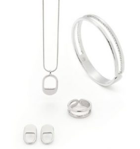 magnethjerte hemmelighedsfuldt og unikt smykkesæt med swarovski krystaller