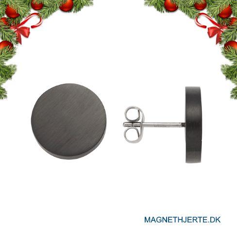runse sorte ørestikker fra Magnethjerte
