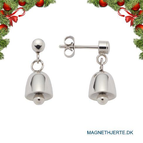 Øreringe fra Magnethjerte, der ligner små klokker
