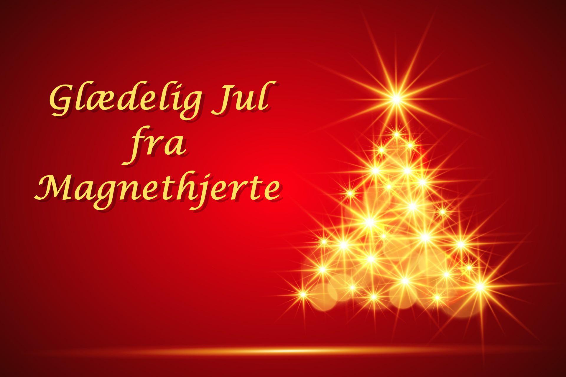 Glædelig Jul fra Magnethjerte