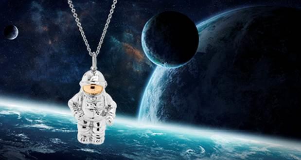 magnethjerte fejrer astronautens dag