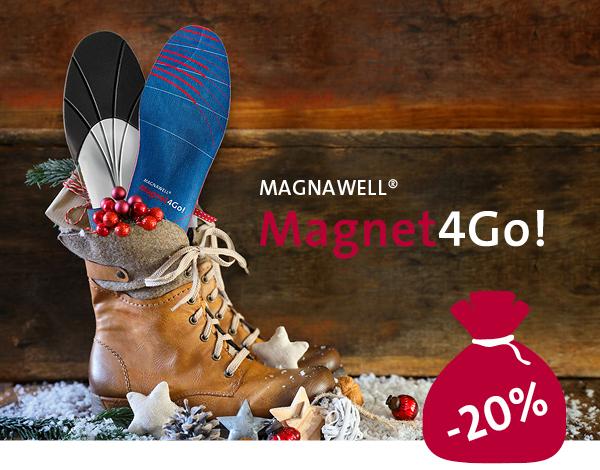 Julestøvler med Magnetsåler føles godt.