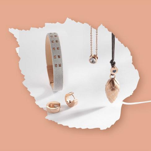 Smykker i rosa guld fra Magnethjerte