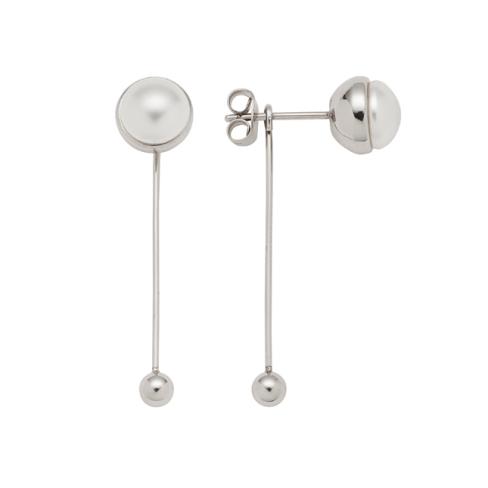 Elegante ørestikker med swarovski perler fra Magnethjerte