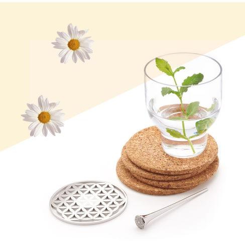 magnitiseret vand fra magnethjerte er charmerende vand