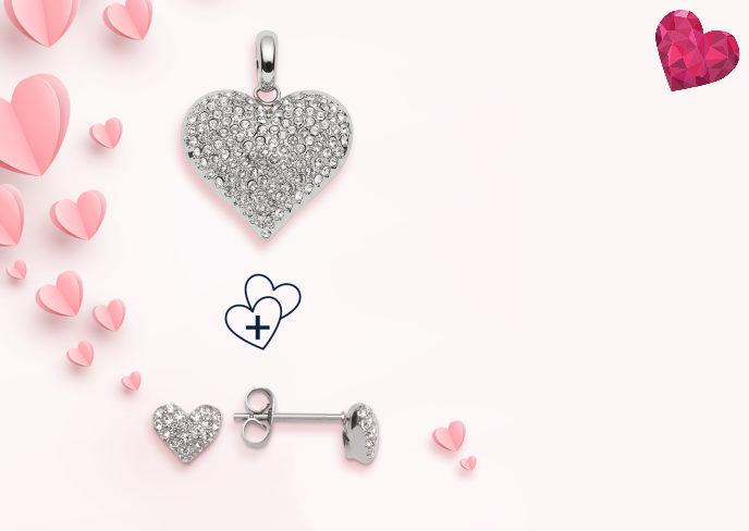 valentinsdag tilbud hjerter fra magnethjerte